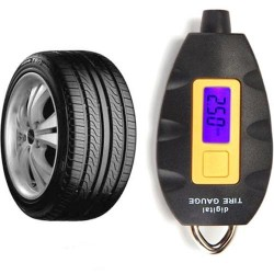 Digital Vehicle Tire Air Pressure Gauge Meter