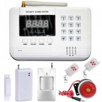 GSM PSTN Wireless Smart Security Alarm System Package