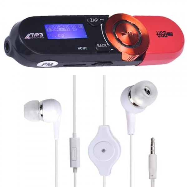 Digital LCD USB MP3 Player with FM Radio