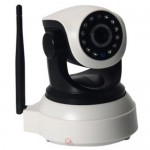 Wifi HD IP Robot Camera - Mobile operated CCTV