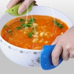 Fruits Vegetable cleaning Scrubber Brush