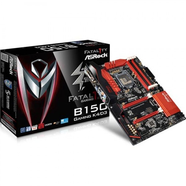 ASRock Intel B150 K4/D3 6th Gen Gaming Motherboard