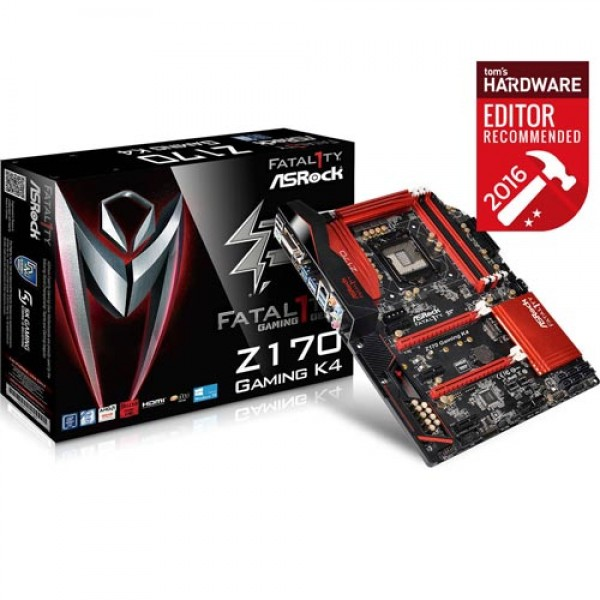 ASRock Intel Z170 K4 6th Gen Gaming Motherboard