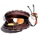 Coin Purse - Coconut Shell Made Women Fashion Mini Wallet