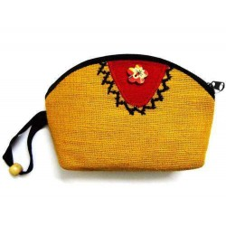 Jute Made Women's Fashion Mini Purse  JMP100C