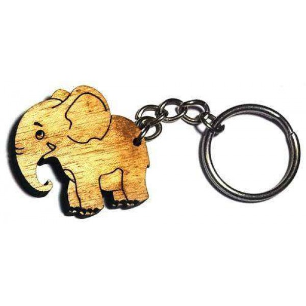 Wooden Key-ring WKR5002