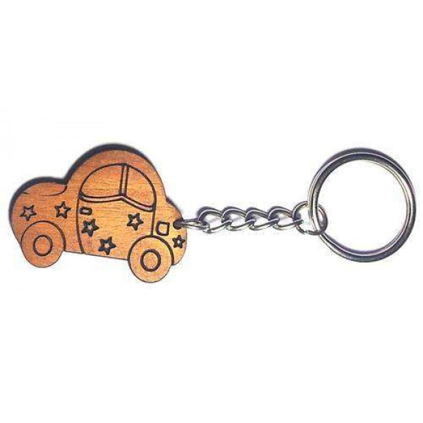 Wooden Key-ring WKR5003
