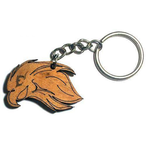 Wooden Key-ring WKR5004