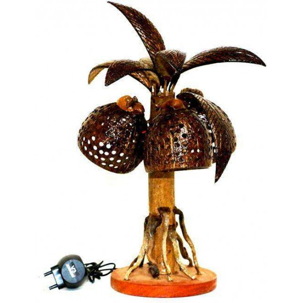 Decoration Flashing LED Coconut Tree Lamp