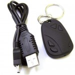 Spy HD Video Recorder Keyring Camera
