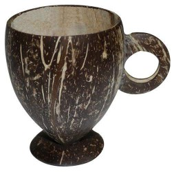 Coconut Shell Handmade useable Tea Cup