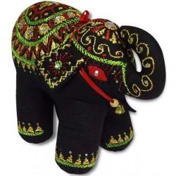 Exclusive Decorative Handmade Black Cotton Elephant Home Decor