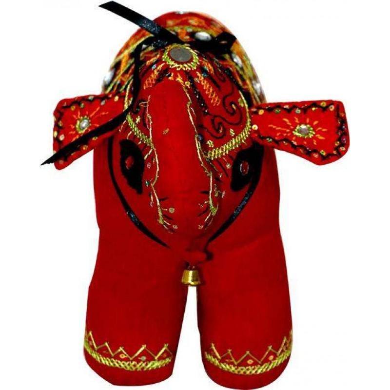 Home Decor Handmade Red Cotton Elephant Shopping24bd