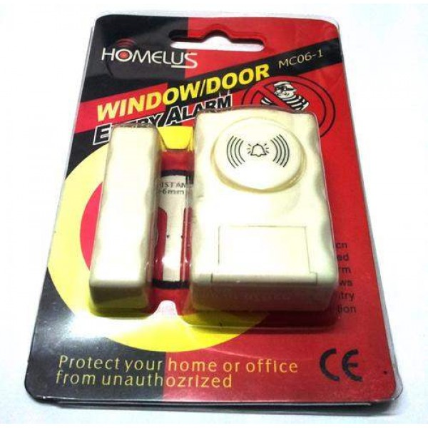 Magnetic Window Door Entry Security Alarm