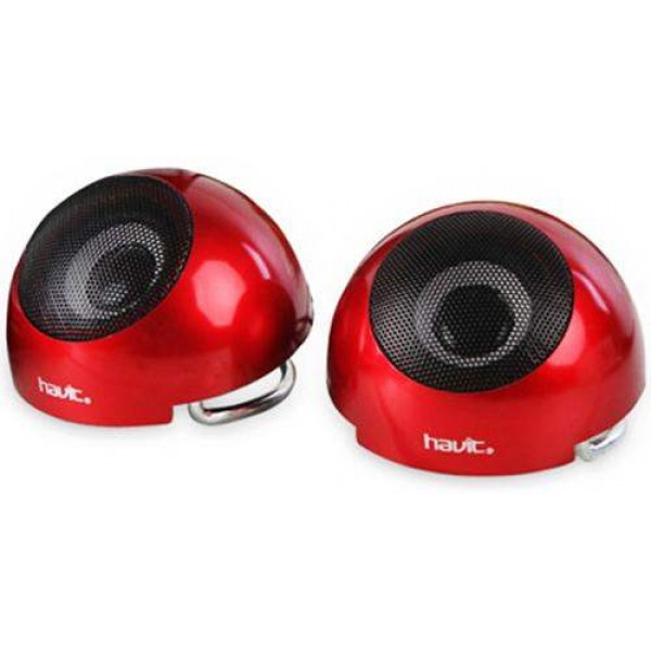 HAVIT USB Speaker Red