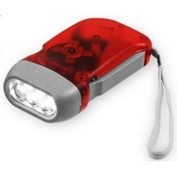 Hand Pressing Dynamo Charging LED Torch