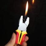 Pliers Shape Cigarette Gas Lighter