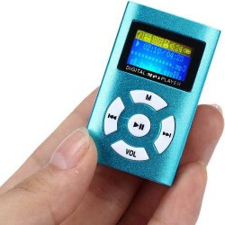MP3 LCD Music Micro Player with Earphone