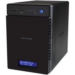 NETGEAR RN104 - ReadyNAS 4-BAY/16TB Storage