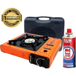 Portable Burner - Travel Camping Gas Stove