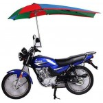 Bike Umbrella - Motorcycle Sunlight Rain Protective Shade