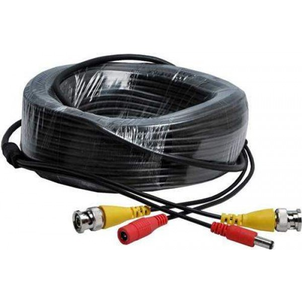 VALUE-TOP 18 Meter Complete CCTV Camera Cable