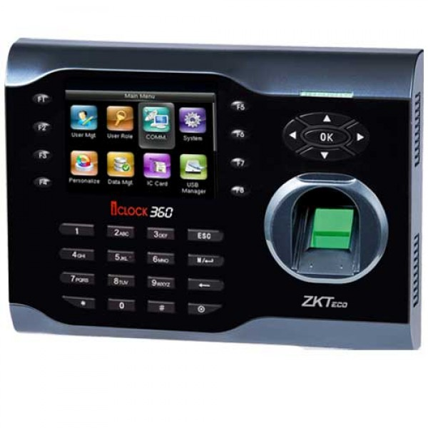ZKTeco iClock360 - Access Control System with Time Attendance