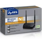 ZyXEL 300Mbps Wireless Router NBG-418N
