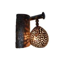 Wall Mount Coconut shell Theme Light